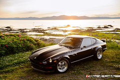 sunset canada classic japan jaune vintage starwars nissan nostalgia turbo québec darth vader jdm datsun s30 fairlady 240z 260z 280z s30z