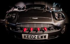 007's Aston Martin Vanquish from Die Another Day (David Dumbell Photography) Tags: london art car movie nikon power dynamic martin exhibition bond aston astonmartin 007 jamesbond d7000
