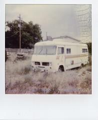 (Matt Allouf) Tags: southwest film home mobile project polaroid utah desert 600 instant rv impossible laverkin