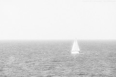 Chasing My Dream. (Regretless.) Tags: sea blackandwhite white black relax grey boat dream aegean athens greece sail pure mykonos chasing