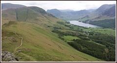 Only the lonely. (stu.bloggs..Dont do Sundays) Tags: road trees summer lake mountains scale water june buildings woodland landscape scenery village path lakedistrict scenic meadows farmland haystacks pasture cumbria fells views vista lakeland buttermere fleetwithpike highcrag rannerdaleknotts rockyoutcrops buttermeremoss mrsbloggs