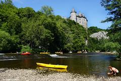 Chteau de Walzin (Red Cathedral uses albums) Tags: summer castle water river kayak bikini kayaking dinant namur redcathedral lesse aztektv dinantevasion chteaudewalzin dinantvasion