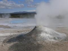 Steam vent at Hvannalindir on Kjölur Pass (Pete Read) Tags: vent pass steam kjolur hvannalindir