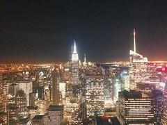 (gaurav.agarwal81) Tags: nyc newyorkcity usa newyork night empirestatebuilding nightview topoftherock totr