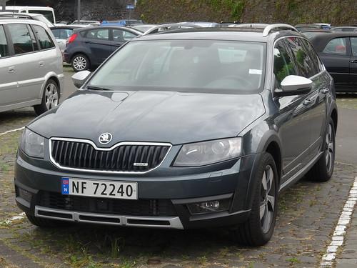 2015 Škoda Octavia Scout