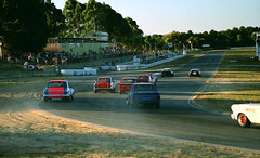 1993 - Mixed class racing at Barbagello Raceway, Wanneroo, Western Australia (aussiejeff) Tags: 1990 motorracing carracing racecar wanneroo wa westernaustralia barbagallo raceway australia sportsedans jeffc aussiejeff