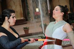 Internal Battle (greyloch) Tags: starwars cosplay theforceawakens 2016 dccosplay rey sith canonrebelt6s ttlflash moviecharacter moviecharactercostume