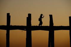 strike a pose (pranav_seth) Tags: pose selfie ubeinbridge ubein myanmar mandalay