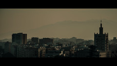Malaga, Spain (emrecift) Tags: landscape cityscape photography golden hour sunset malaga andalucia spain cinematic 2391 anamorphic sony a7 alpha canon new fd 135mm f28 legacy lens emrecift