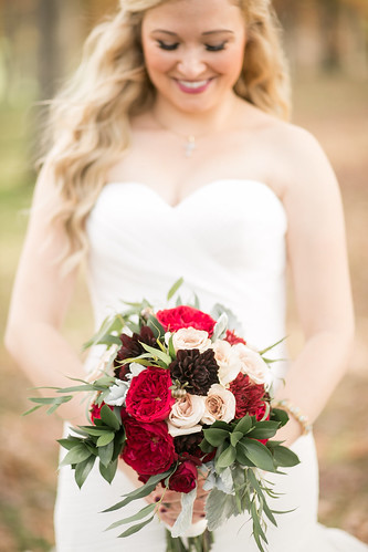 """Chocolate Dahlias & Darcy Garden Roses • <a style=""""font-size:0.8em;"""" href=""""http://www.flickr.com/photos/81396050@N06/31213707914/"""" target=""""_blank"""">View on Flickr</a>"""