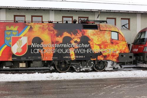 ÖBB 1016 048-1 Niederösterreichischer Feuerwehrverband