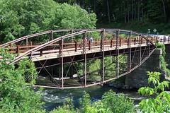"Hadley ""Bow"" Bridge (jschumacher) Tags: newyorkstate upstate adirondacks bowbridge sacandagariver"