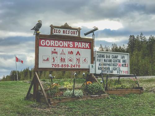 Gordon's Park Eco Resort, Manitoulin Island