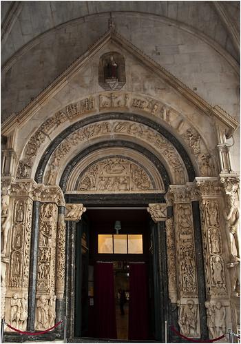 1247-IGLESIA DE SAN LORENZO - TROGIR - CROACIA -