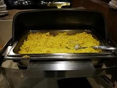 Yellow rice (A. Wee) Tags: rice jakarta 雅加达 indonesia 印尼 cgk soekarnohatta airport 机场 terminal2 lounge