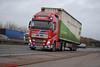Volvo FH4 'Stuart Nicol Transport' reg N999 SNT (erfmike51) Tags: volvofh4 truck artic euro6 curtainside lorry stuartnicoltransport