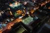 DSCF3296 (Mike Pechyonkin) Tags: 2016 vietnam вьетнам nhatrang нячанг night ночь skylight street улица house дом roof крыша football field футбольное поле stadium стадион