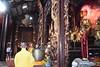 One of the monks was chanting while the other was beating the drum (shankar s.) Tags: southeastasia seasia vietnam saigon hochiminhcity hcm southvietnam mekongdeltavietnam tiềngiangprovince mytho vinhtrangpagoda religiousshrine placeofworship houseofprayer buddhism buddhistfaith taoism buddhisttemple templeinterior shrineinterior sanctum sanctumsantorum buddhastatue halo buddhaimage templedeity mainhall chanting