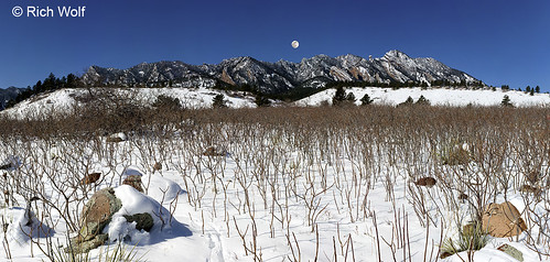 Photo - South Mesa Trail in Winter with Sumac - City of Boulder Open Space and Mountain Parks