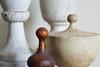 Four Finials (Jewel Appletor aka Karalyn Hubbard) Tags: treasures old wood scrolled pastera softlight diffusedlight finial painted whitewashed detail art artist craftsmanship