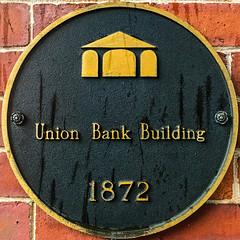 Union Bank Building (Timothy Valentine) Tags: medallion 0816 2016 squaredcircle vacation charlottetown princeedwardisland canada ca