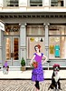 chloe (ladybumblebee) Tags: digitalart digitalcollage art chloe storefront