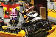07_Bat_Cave (bbchai) Tags: lego batman batcave robin poster movie mobile segway