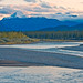 Athabasca river in Jasper NP (2)