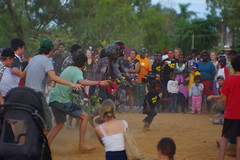 Passing on culture (jasonkb) Tags: street festival dance movement action traditional culture australia sacred tropical aboriginal tropics indigenous barunga