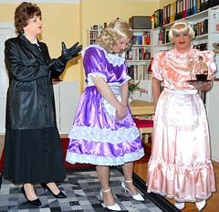 Maid_Mistress08 (Birgit Bach) Tags: fake satin maid femdom governess