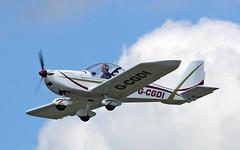 G-CGDI EV-97A TeamEurostar UK (PlanecrazyUK) Tags: fly in sturgate 070615 egcv ev97ateameurostaruk gcgdi