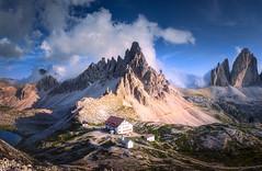 Peak Day (@hipydeus) Tags: italy mountains dolomites southtyrol dolomiten trecime paternkofel