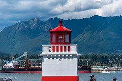 A Light in the Darkness (Tony Scuvotti) Tags: lighthouse canada vancouver nikon bc britishcolumbia stanleypark vancity nikond750