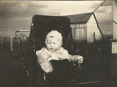 dramatic baby background (912greens) Tags: 1920s babies barns farms storms strollers folksidontknow