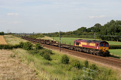 66002 6D11 bridge 33 10.07.2015 (Dan-Piercy) Tags: steel empties scunthorpe dbs class66 ews lackenby boltonpercy 66002 bridge33 6d11