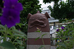 Statue near Nikishi Market