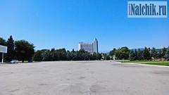 Нальчик. Площадь Абхазии