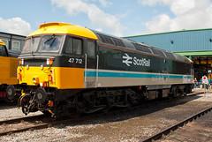 ScotRail Class 47 47712 (Barry Duffin) Tags: uk england train photography nikon diesel rail railway loco trains locomotive dslr carlisle drs class47 kingmoor 47712 d3000 drsopenday