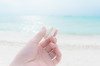 a shell (maaco) Tags: ocean sea me photoshop seaside sand nikon honeymoon hand shell sigma resort adobe fourseasons 1020mm maldives whitesand lightroom baaatoll luxuryresort d7000 landaagiraavaru fourseasonsresortmaldivesatlandaagiraavaru