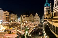 [explored] Weihnachtsmarkt Leipzig (wirklich_rainer_zufall) Tags: weihnachtsmarkt christmasmarket leipzig blauestunde advent weihnachten glühwein kräppelchen buden räucherkerzen marktplatz altesrathaus