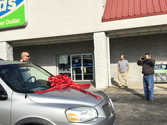 Jamie Quick Tearfully Shocked Freedom Motors Contest Winner (cullmantoday) Tags: jamie quick tearfully shocked freedom motors contest winner hanceville cullman county alabama