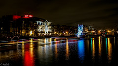 Carre - Amsterdam light festival (Ramireziblog) Tags: theatre theater carre amsterdam amstel nightshot nacht reflections light festival canon 6d