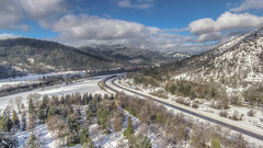 Our Beautiful Valley (snaphappyd) Tags: dji phantom 3 standard hdr rogue valley oregon winter landscape ariel drone scenic scenery snow wonderland