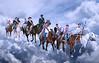 Alfereces (guvi2008) Tags: alférez caballos volarentrelasnubes nubes