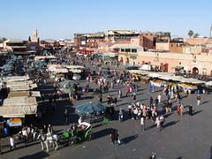 MARRAKECH - LA PLAZA DE JEMAA EL FNA (6) (mflinera) Tags: marrakech marruecos plaza jemaa fna