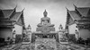 Wat Pikul Thong Phra Aram Luang (technodude67) Tags: amazingthailand architecture asia asiatrip buddhism bw cult discoverasia discoverthainess igthailand ilovethailand leaningtower lostinthailand temple th thailand thailandtrips tourism travel trip turismo unlimitedthailand viaggiare viaggio monochrome black white