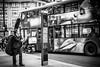 Taste The Feeling (h_cowell) Tags: oxfordcircus oxfordstreet london city capital uk england street streetphotography bus transport blackandwhite btw mono monochrome silverefex panasonic gx7 people candid music appicoftheweek advertising cocacola