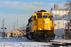 Start your day the Skally way (view2share) Tags: theskallyline rushcity stcroixvalley stcroixvalleyrailroad saintcroixvalleyrailroad mn minnesota sd403 sd45 emd electromotivedivision scxy scxy1326 elevator grainelevator grain depot office switch switching switches january162017 january2017 january 2017 winter cold snow snowfall locomotive engine rr rrcar rring chisagocounty morning trains train track transportation tracks transport trackage railway railroading railroads railroad rail rails railroaders freight freighttrain deansauvola shortline shipment crossing work rural