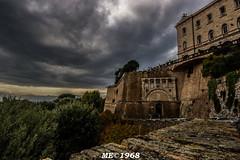 PERUGIA - Rocca Paolina Panoramica (iw2ijz) Tags: perugia umbria italia italy rocca paolina fortificazione panorama cielo sky nero nubi clouds