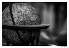 old world (Aljaž Anžič Tuna) Tags: 222365 222 365 old world earth sphere globe wood woddenglobe round photo365 project365 onephotoaday onceaday oldschool vintage 200yr d800 dailyphoto day dof 35mm 365challenge 365project monocrome monochrome nikond800 nikkor nikkor85mm nice naturallight 85mmf18 f18 bw blackandwhite black blackwhite beautiful white royal italy